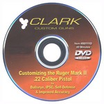 CUSTOMIZING THE RUGER MARK II VIDEO (DVD) X0111D